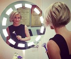15 Best Julianne Hough Bob Haircuts: #2. Julianne Hough Short Bob Back
