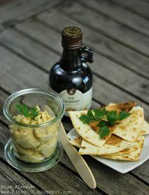Czosnkowy Serek z Nerkowców / Garlic Cashew Cheese (raw vegan)