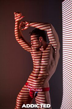 #addicted to game campaign photoshoot, featuring Kirill Dowidoff www.VOCLA.com #underwear #models
