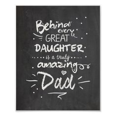 Father's day card Quote Daughter Chalkboard - Looking for that perfect Father's Day gift? Look no further. Personalize this gift for your father and become the favorite child. Father Birthday Cards, Happy Birthday Daddy, Dad Birthday Quotes, Happy Birthday Dad From Daughter, Diy Father's Day Gifts From Daughter, Birthday Wishes, Girlfriend Birthday, Daddy Daughter, Birthday Crafts