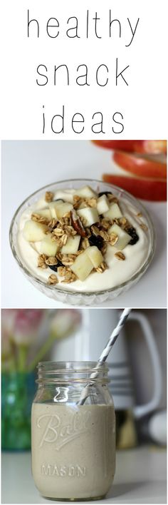 Healthy snack ideas to keep you on track!
