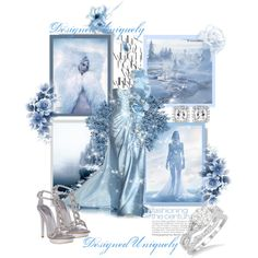 Ice Princess by designeduniquely on Polyvore