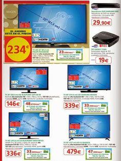 Precios de Televisores de Alcampo por Navidad 2014