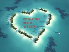 Oscar Wilde Quote about broken hearts