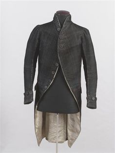 Civilian jacket worn by Napoleon, early 19th century, French.