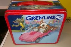 Vintage Aladdin Lunch box Metal Gremlins 1984 by LindasTimeCompass, Also my favourite Christmas movie.
