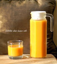 kreatív konyha: Sütőtökös ivólé házilag