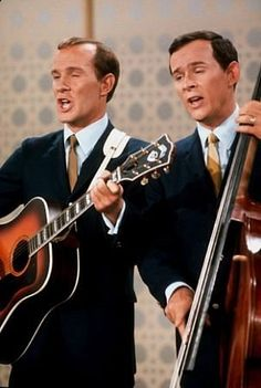 Smothers Brothers....cutting edge comedy at the time. They had a great TV show. ❤️these guys!!!