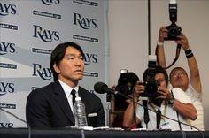 MLB: Tampa Bay Rays-Hideki Matsui Press Conference