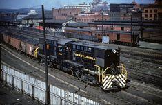 Pennsylvania Railroad, Altoona Pennsylvania, Long Island Railroad, Train Engines, Diesel Locomotive, North America, Trains, Past, Around The Worlds