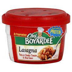 Chef Boyardee Lasagna Image