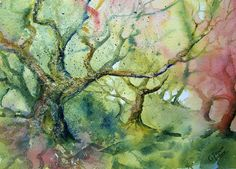 Wistman's Wood - Original painting by CPascoeWatercolours on Etsy