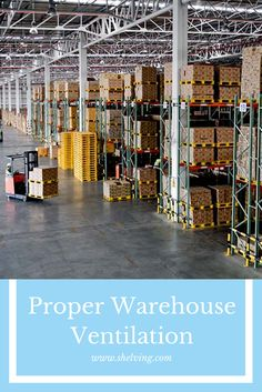 Proper ventilation, particularly proper warehouse ventilation, goes far beyond just having access to working heat and central air. Warehouse Shelving, Warehouses, Divider, Home Decor, Decoration Home, Room Decor, Interior Design, Home Interiors, Divider Screen