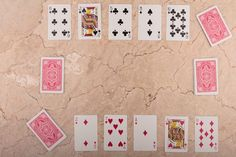 The card game Speed, a variant of Spit, is a fast-paced battle between two opponents to rid themselves of all of the cards in their decks.  This game only requires an understanding of the number and face values of cards. The rules are fairly simple and can be taught to young children who possess basic math skills.