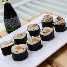 #poramaisb - Você ama um 'japa'? Teste a receita de sushi funcional com arroz integral