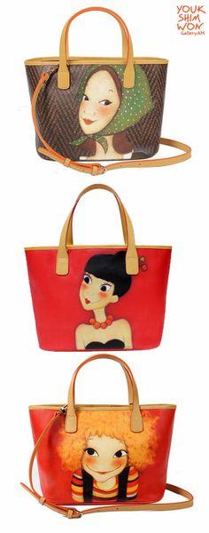 Charicter designer bags# Youk