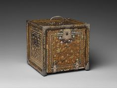 "This cabinet belongs to a category of goods known as nanban (literally, ""southern barbarians""), which were produced in Japan in the late sixteenth and early seventeenth centuries for trade with Portugal and other European countries"