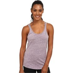 Reebok Elements Tank Top Women's Sleeveless, Gray ($11) ❤ liked on Polyvore featuring tops, grey, slimming tank top, gray tank top, grey tank top, slimming tank and sleeveless tank tops