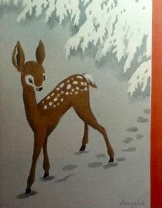 60's Christmas Card. Mad Men Rudolph. Retro Christmas Card. Vintage Christmas Card.
