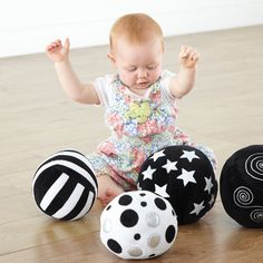 Black and White Activity Ball Collection