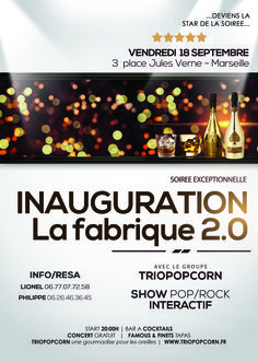 show pop/rock - animation musicale - Marseille - La fabrique