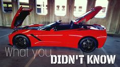 awesome Car and Truck videos - 5 Things You Didn't Know About the C7 Corvette Stingray! #Cars &  #Trucks Check more at http://rockstarseo.ca/car-and-truck-videos-5-things-you-didnt-know-about-the-c7-corvette-stingray-cars-trucks/