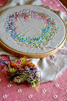 cross stitch stash buster by Anne Mende | Project | Embroidery | Cross Stitch / Decorative | Kollabora