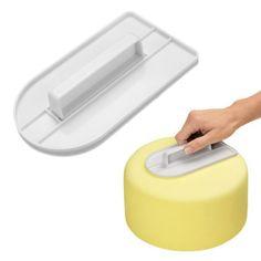 Plastic Cake Decorating Smoother Paddle Sugar Baking Finisher Tool | cndirect.com
