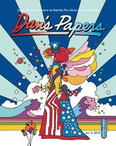 Dan's Papers - Hamptons  2015  - Peter Max
