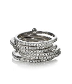 Petite Hand Me Down Stack Ring