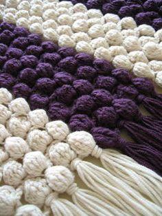 Free crochet bubble scarf pattern ✿Teresa Restegui http://www.pinterest.com/teretegui/✿