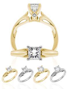 Kapili Aulii Available in / White, Yellow and Platinum. Center Stone Round or Princess. Hawaiian Wedding Rings, Travel Couple, Celebration, Engagement Rings, Princess, Stone, Yellow, Jewelry, Enagement Rings
