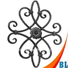 Image result for wrought iron scroll design