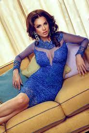 blue elegance dress