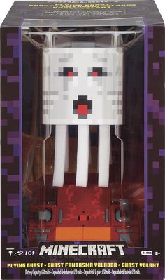 Minecraft RC Flying Ghast Quadcopter Drone Kids for sale online Remote Control Drone, Flying Drones, Drone Quadcopter, Minecraft, Kids, Ebay, San Jose, Parrot, Cameras