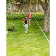 Slackers Zipline Hawk Zipline & Reviews   Wayfair Kids Zipline, Backyard Obstacle Course, Two Trees, Light Spring, Outdoor Games, 6 Years, The Neighbourhood, The 100, At Least