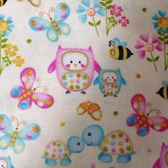 Sew Scrumptious Fabrics - SPX - Woodland Cuties (Cream), £3.20 (http://www.sewscrumptious.co.uk/spx-woodland-cuties-cream/)