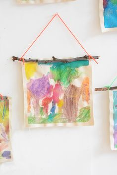 fall nature hangings Nature Wall Hangings are a great way to experiment with different art materials for young children, while creating something beautiful. Fall Art Projects, Projects For Kids, Diy For Kids, Craft Projects, Crafts For Kids, Arts And Crafts, Autumn Activities For Kids, Art Activities, Toddler Art