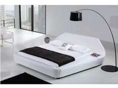 Mercatus Leather Bed l Porta Leather bed | Danish Inspirations. SWEEEET!