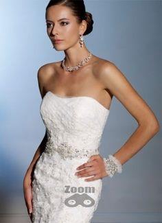 Sophia Tolli Wedding Dresses 2019 for Mon Cheri - Bridal Gowns Bridal And Formal, Bridal Wedding Dresses, Designer Wedding Dresses, Bridal Style, Bridal Veils, Wedding Bells, Mon Cheri Bridal, Headpiece Jewelry, Jewellery