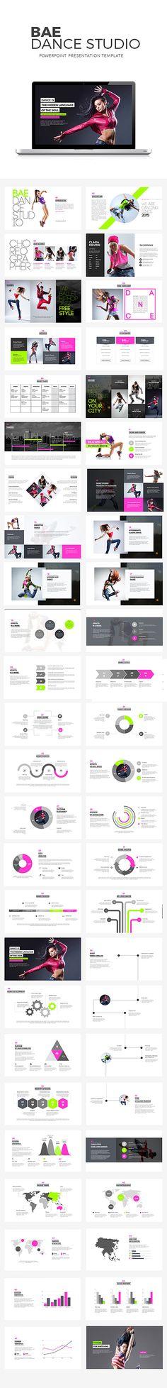 Bae Dance Powerpoint Presentation Template #design Download: http://graphicriver.net/item/bae-dance-powerpoint-presentation/11812983?ref=ksioks