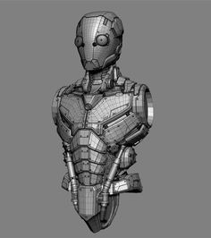 James Ku - Character Art Portfolio and Gallery. 3d Model Character, Character Modeling, Character Concept, Character Art, Character Design, Low Poly, Robots Characters, 3d Mesh, Futuristic Armour