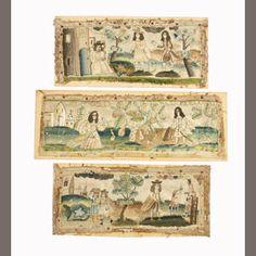 Late 17th century casket panels