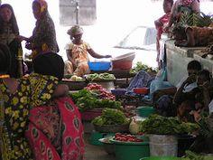 Moroni market, Moroni island, Comoros