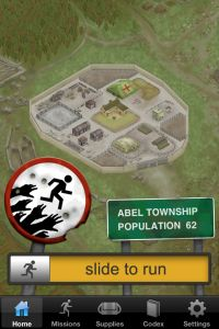 Zombie Run app, I can't wait until it's cooler out and I can actually try this!