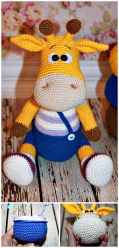 Crochet Naughty Giraffe Amigurumi – Free Pattern - 32 Free Crochet Giraffe Amigurumi Patterns - DIY & Crafts