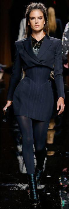 Balmain Fall 2016 women fashion outfit clothing style apparel @roressclothes closet ideas