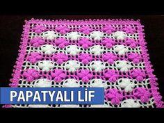 Basit İki Renkli Papatya Lif Modeli Sesli Anlatım - YouTube