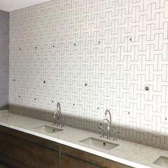 delfornotilesandtimber Hog's Head Hotel with our custom H tiles. .