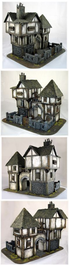 57 Best Medieval  Tudor Dolls Houses And Miniatures Images